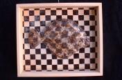 Curlfin Sole checkerboard (36cm)